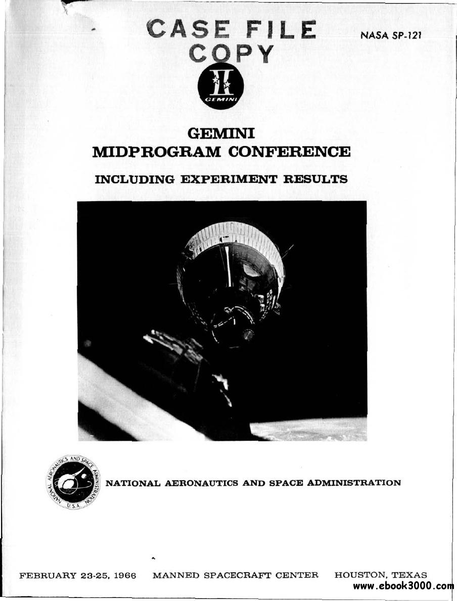 Gemini Mid Program Conference Including Experiment Results free download