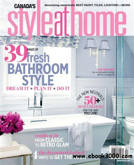 Style at Home - September 2011 free download