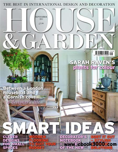 House and Garden - September 2011 free download