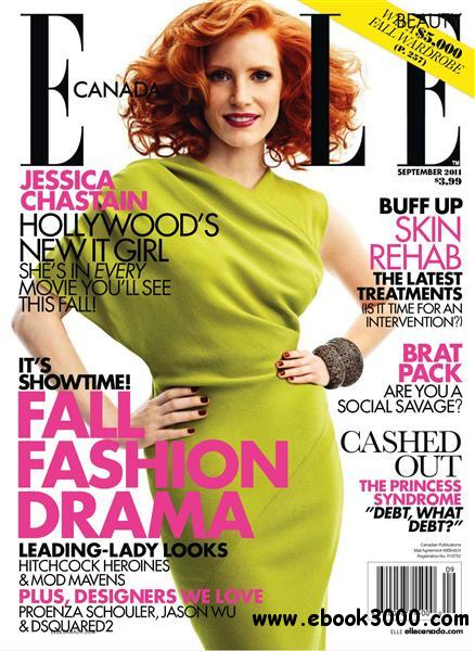 Elle Canada - September 2011 free download