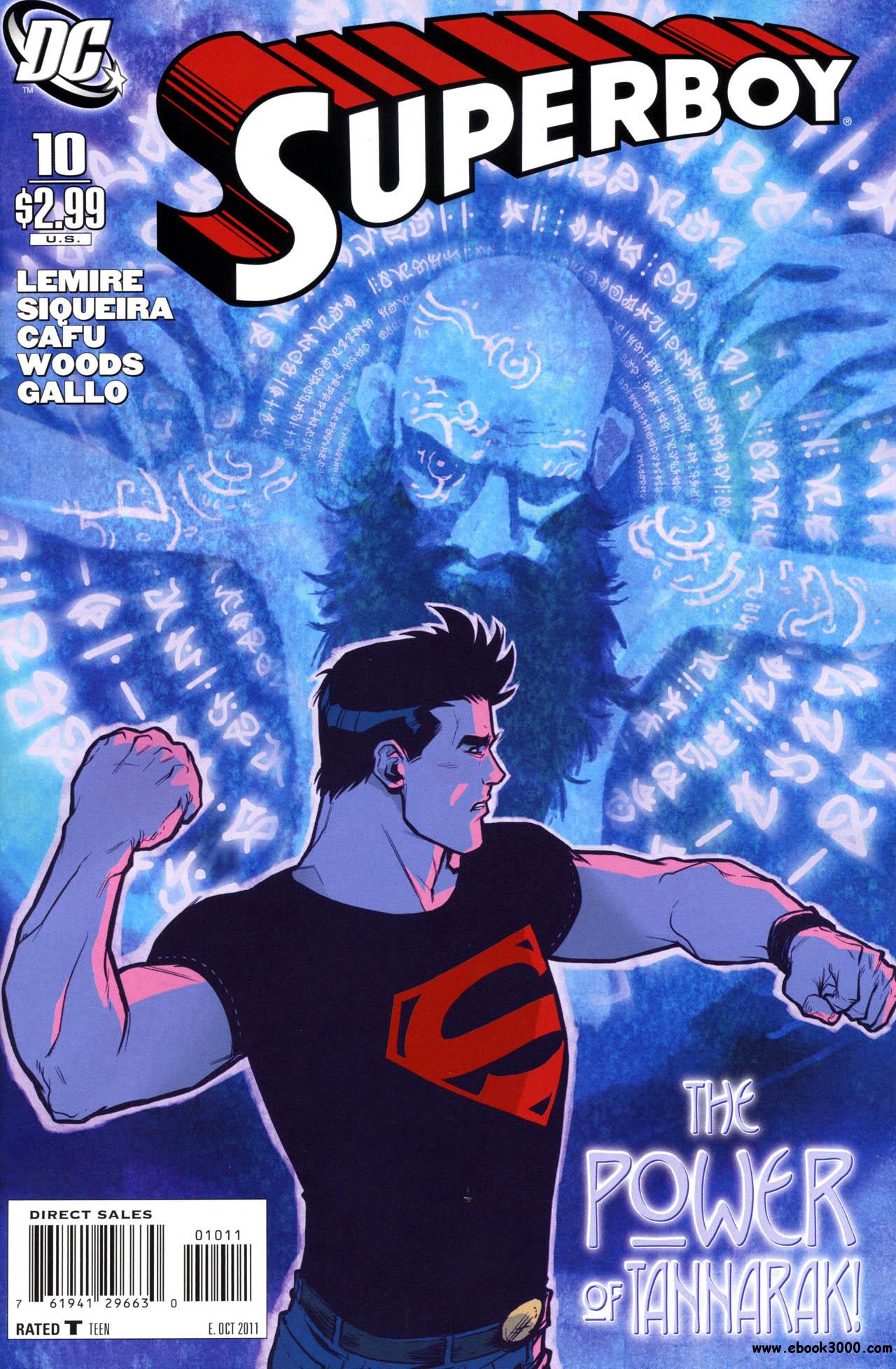 Superboy #10 (2011) free download