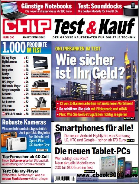 Chip Test und Kauf Magazin August September No 08 2011 free download