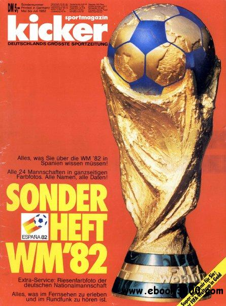 Kicker Magazin Sonderheft Fussball WM 1982 free download
