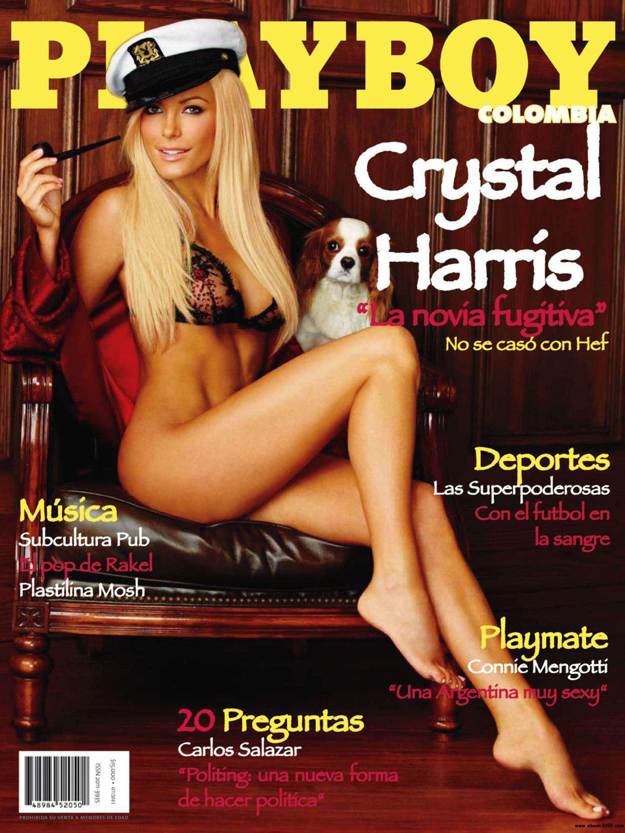 Playboy Colombia - July 2011 - No Watermark free download