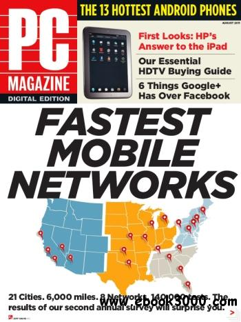 PC Magazine - August 2011 free download