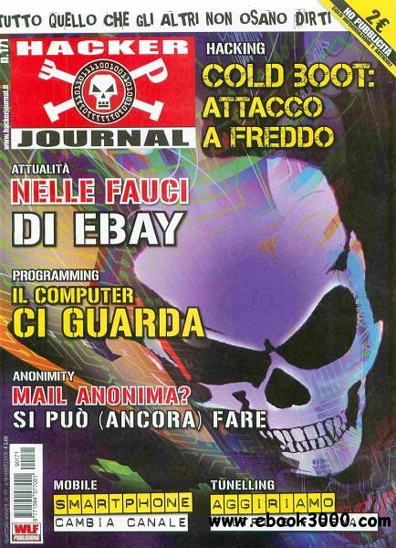 Hacker Journal N 170 - 5-18 Marzo 2009 free download