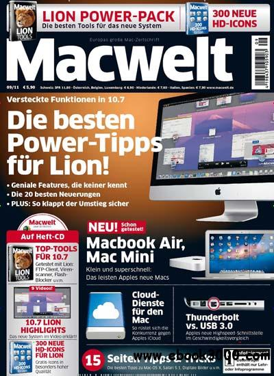 Mac Welt Magazin 09 2011 free download