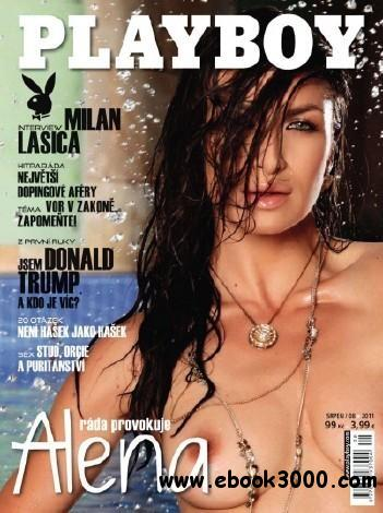 Playboy Czech - August / 2011 free download