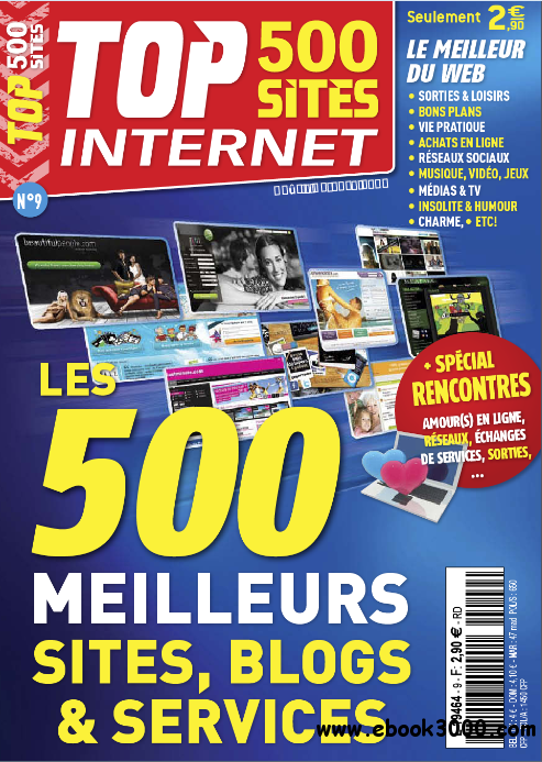 Top 500 Sites Internet N 9 - Aout/Octobre 2011 free download