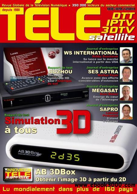 Tele Satellite N 1109 - Aout./Septembre 2011 download dree