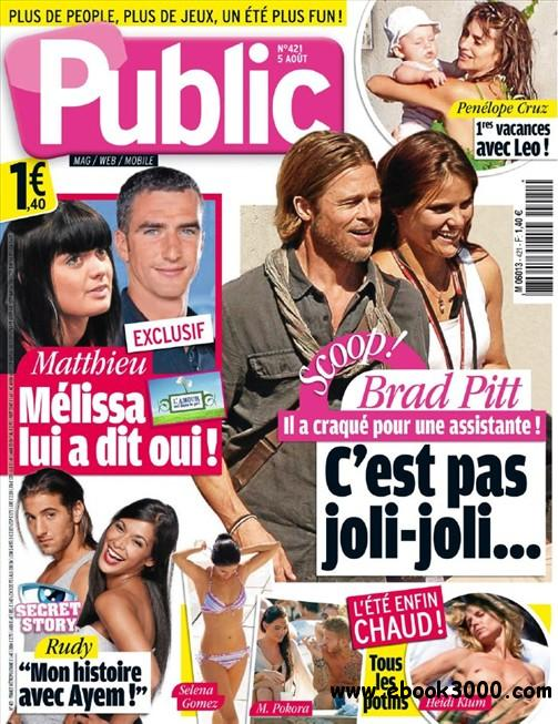 Public N 421 du 5 Aout au 13 Aout 2011 free download