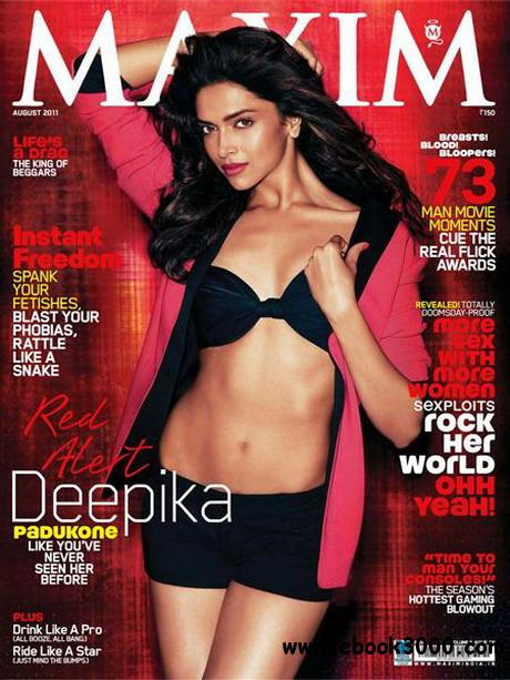 Maxim - August 2011 / India free download