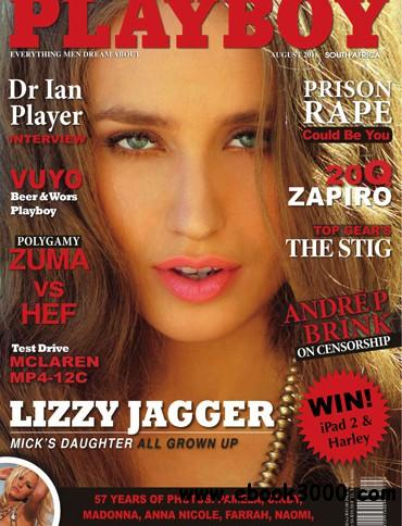 Playboy South Africa - August 2011 free download