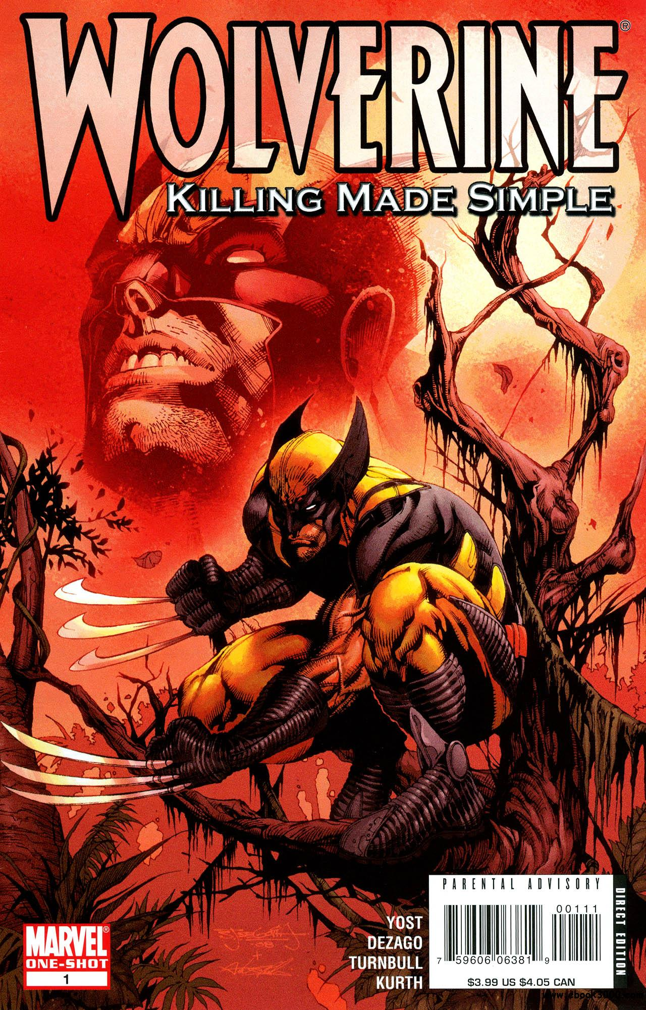 Wolverine - Killing Made Simple (2008) free download