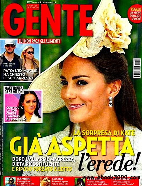 GENTE N 33 - 13 Agosto 2011 free download