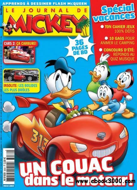 Le Journal de Mickey N 3084 du 27 juillet au 2 aout 2011 free download