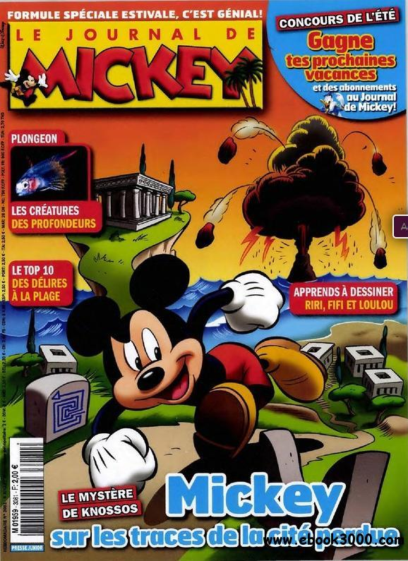 Le Journal de Mickey N 3081 du 6 au 12 juillet 2011 free download