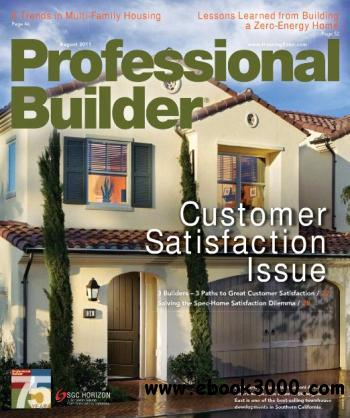 Professional Builder - August 2011 free download