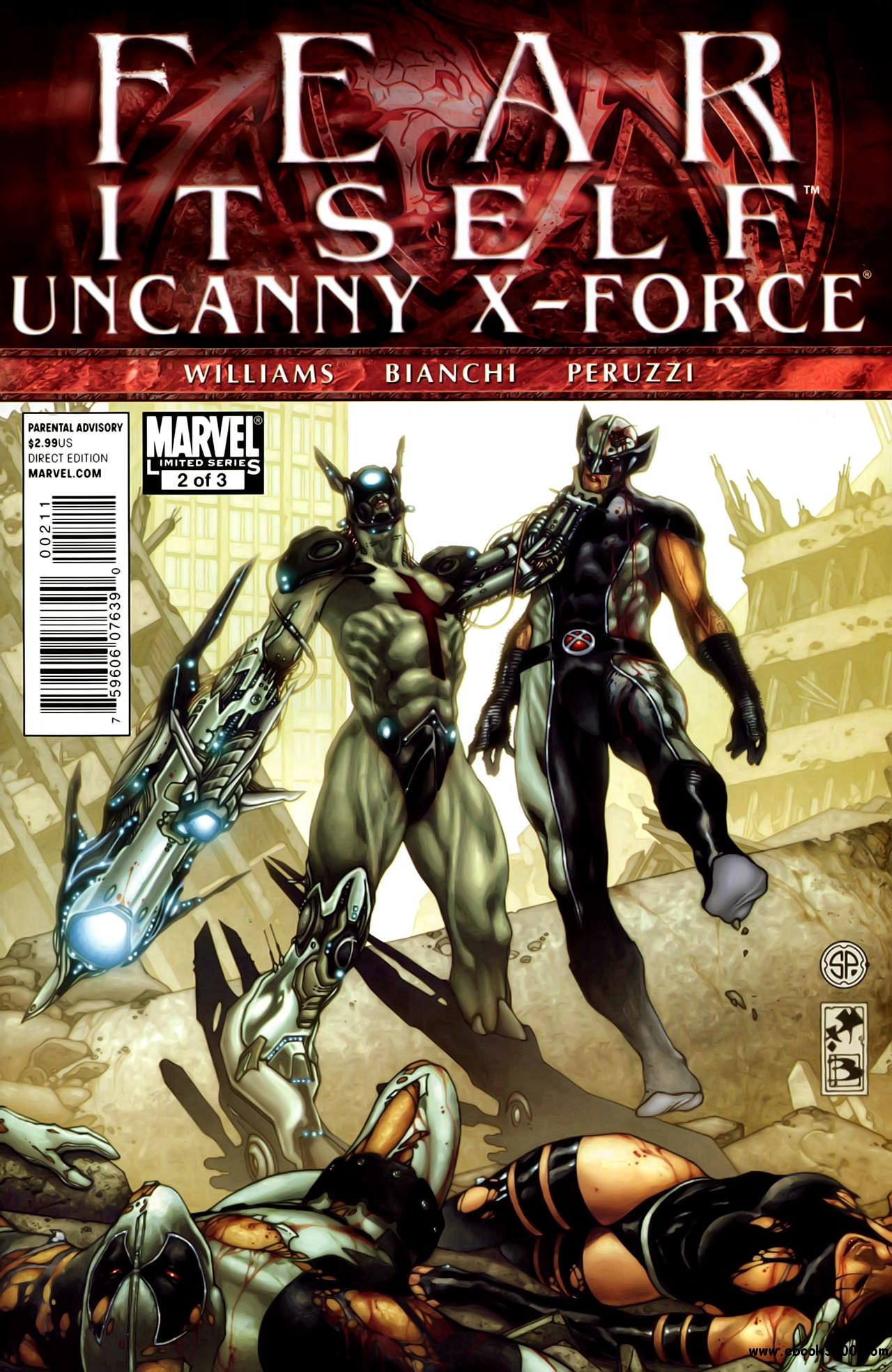 Fear Itself - Uncanny X-Force #2 (of 03) (2011) free download