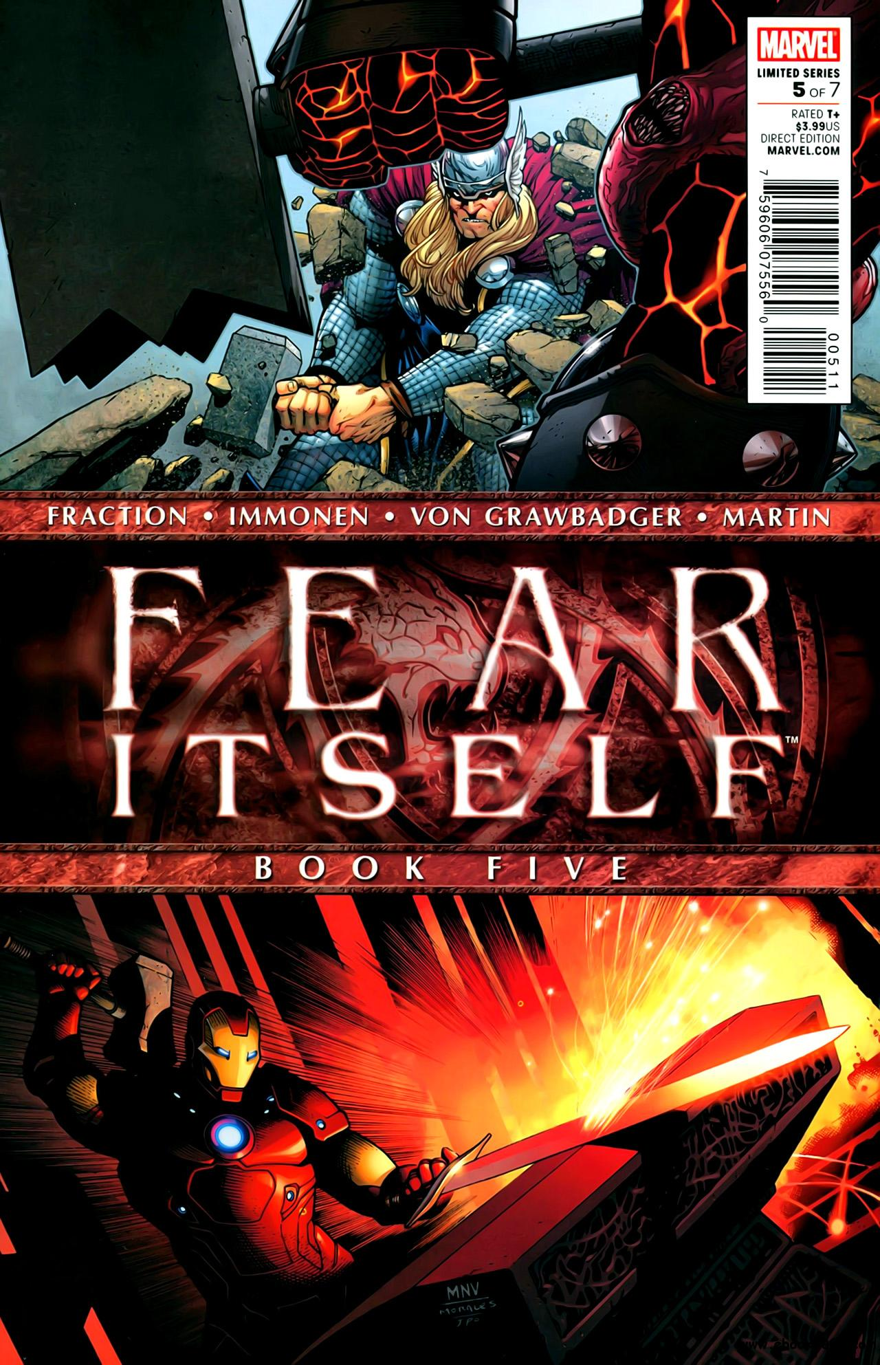 Fear Itself #5 (of 07) (2011) free download