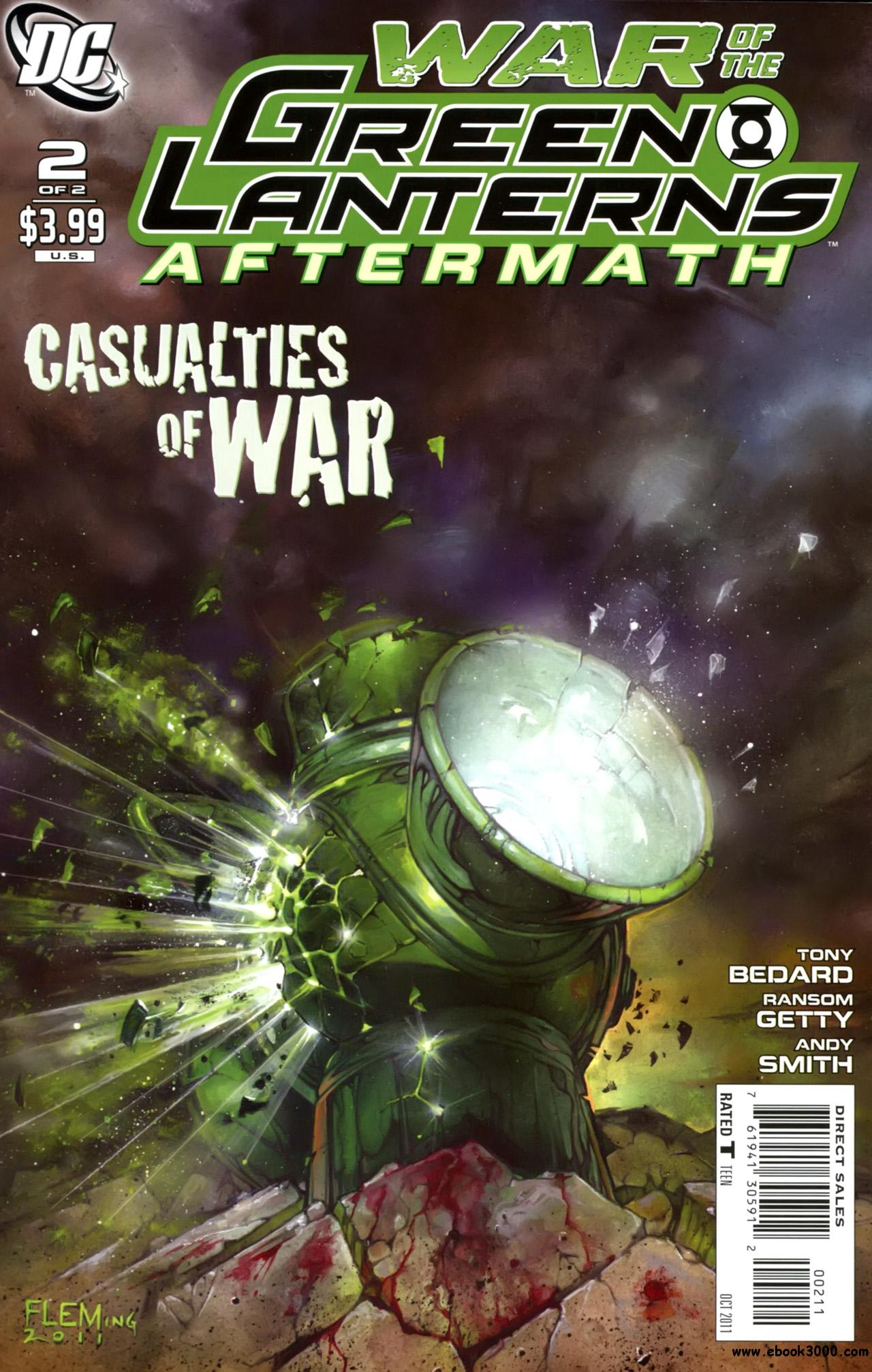 War of the Green Lanterns: Aftermath #2 (of 2) (2011) free download