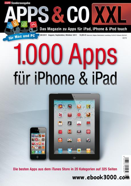 COM Magazin Sonderheft Apps und Co XXL August - Oktober No 06 2011 free download