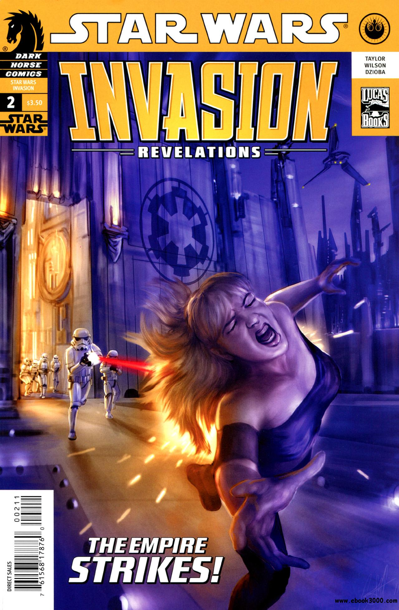 Star Wars - Invasion - Revelations #2 (2011) free download