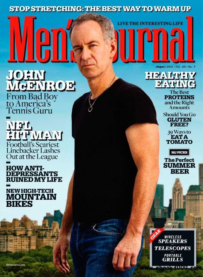 Men's Journal - August 2011 free download