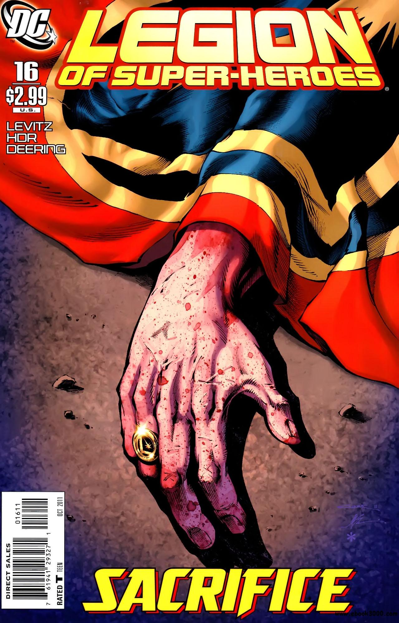 Legion of Super-Heroes #16 (2011) free download