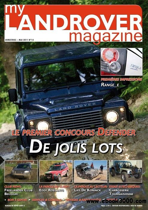 My Landrover Magazine - Mai 2011 free download
