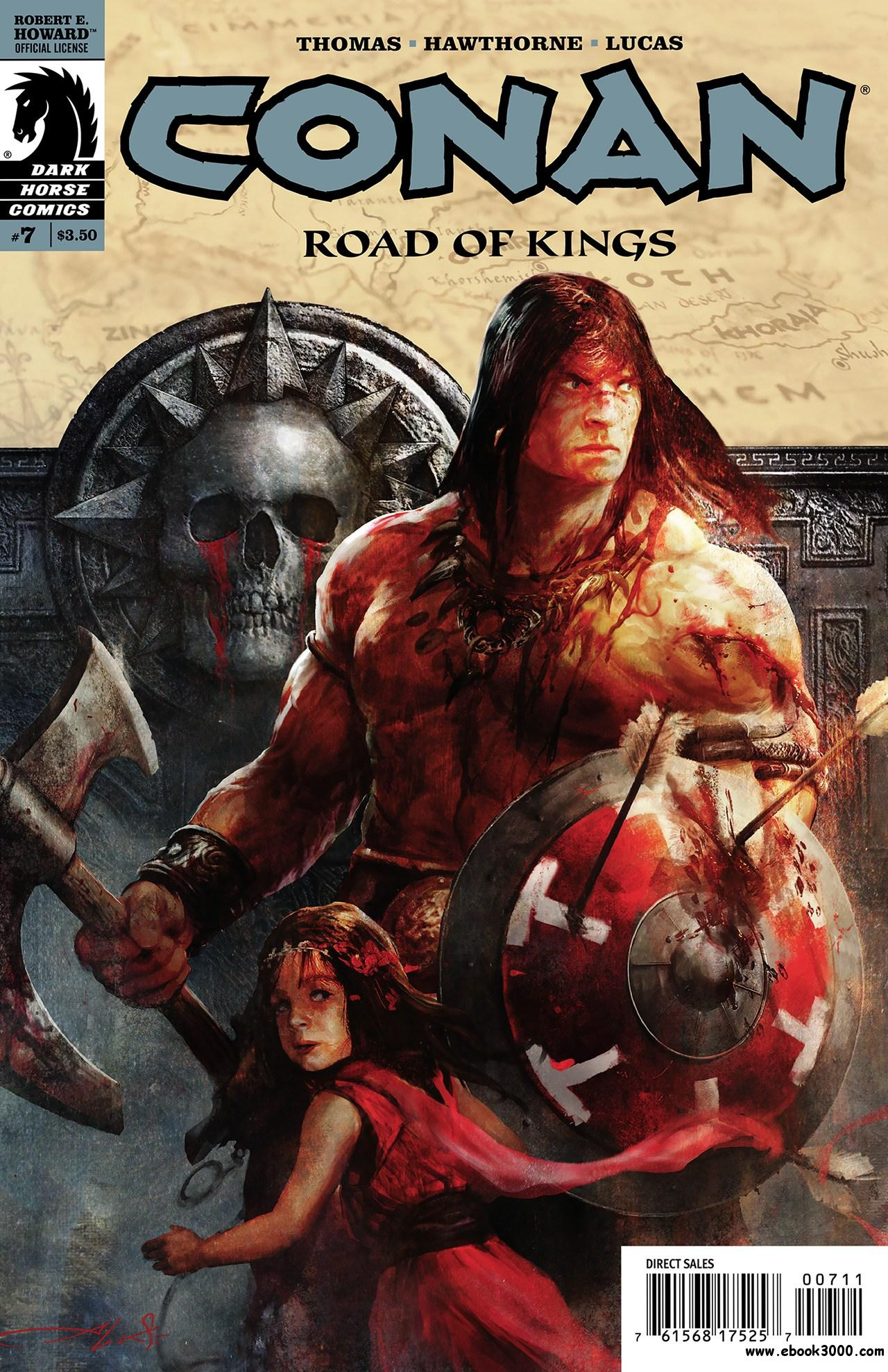Conan - Road of Kings #7 (2011) free download