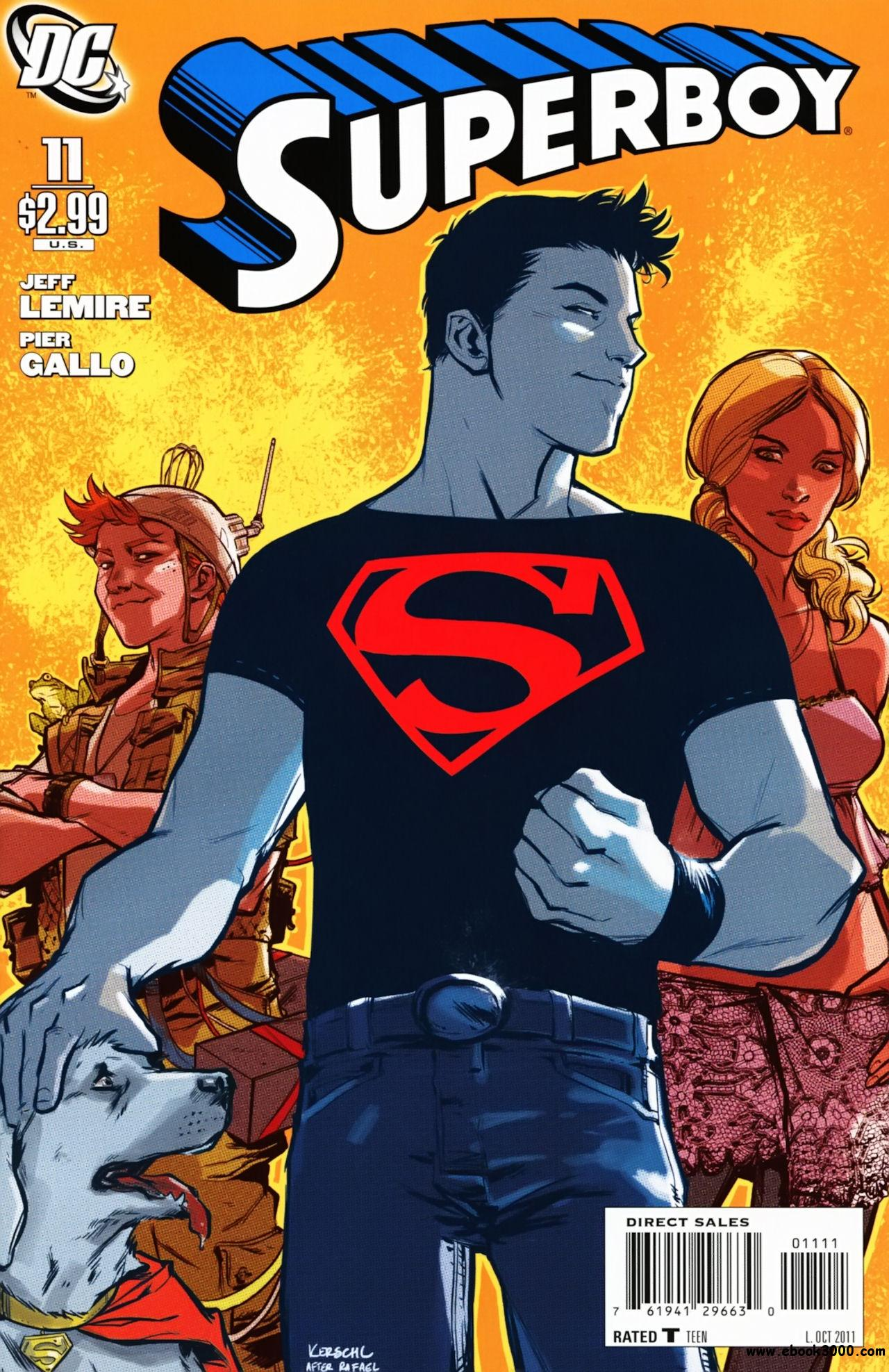 Superboy #11 (2011) free download