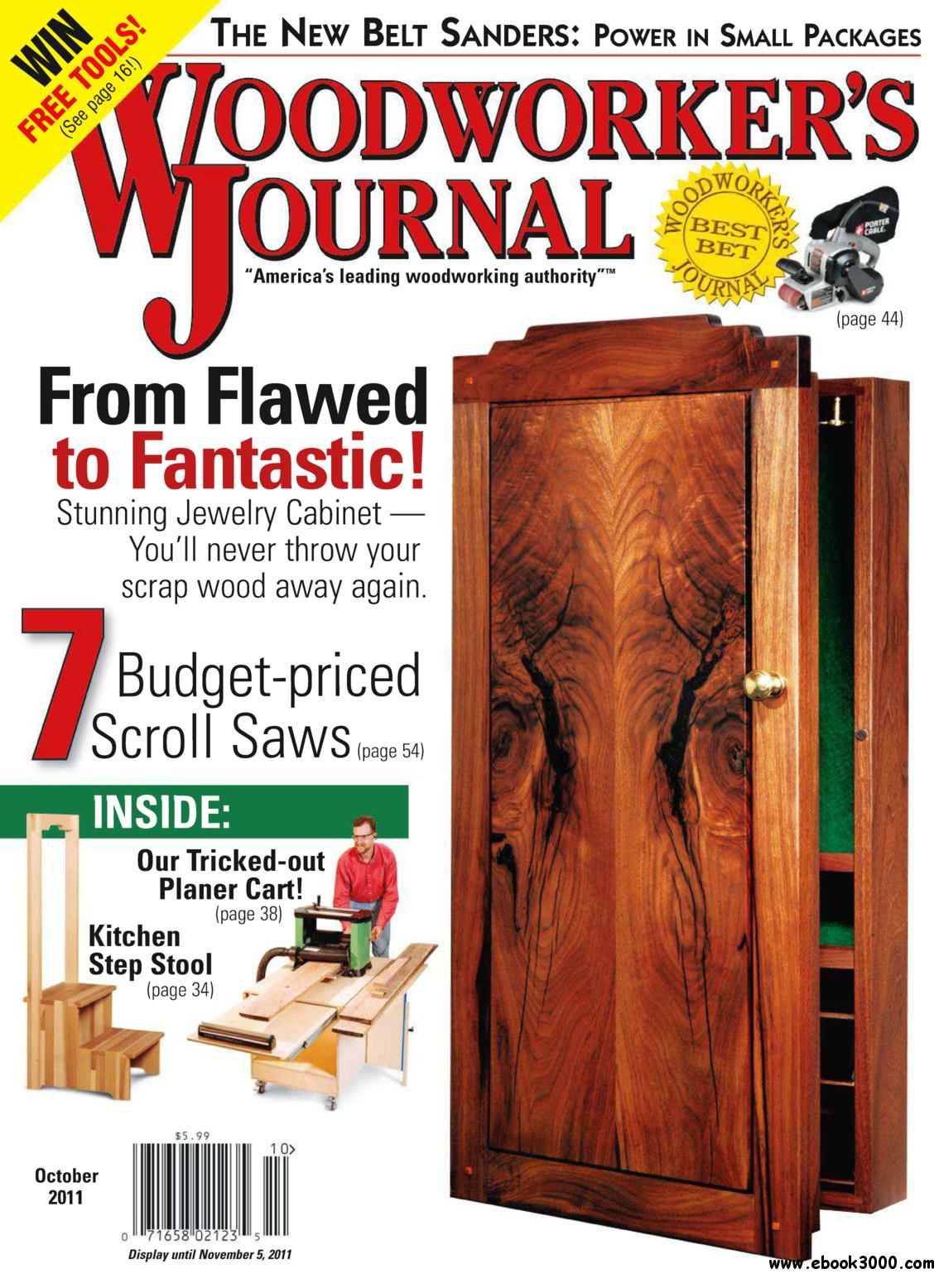 Woodworker's Journal (October 2011) free download