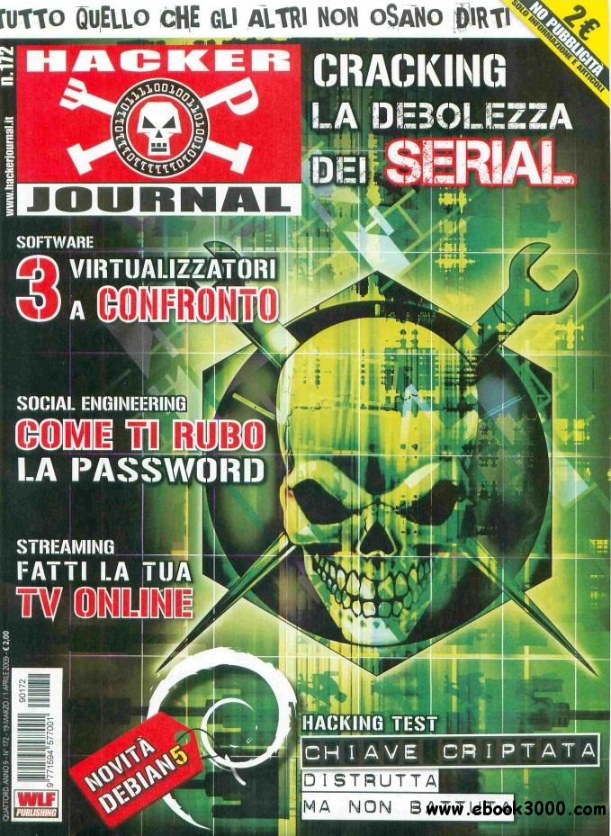Hacker Journal N 172 - 19 Marzo - 1 Aprile 2009 free download