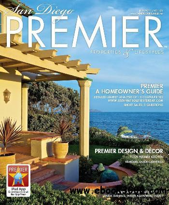 San Diego PREMIER Properties and Lifestyles - July 2011 free download