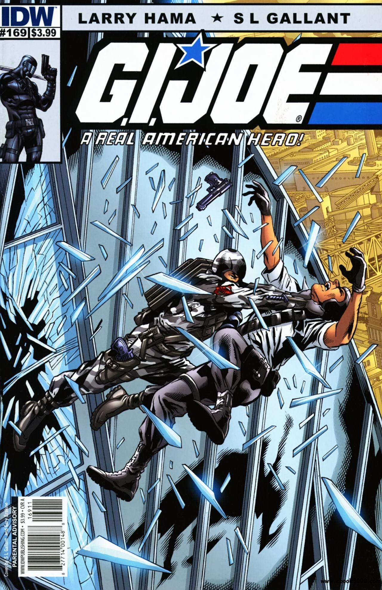 G.I. Joe: A Real American Hero #169 (2011) free download