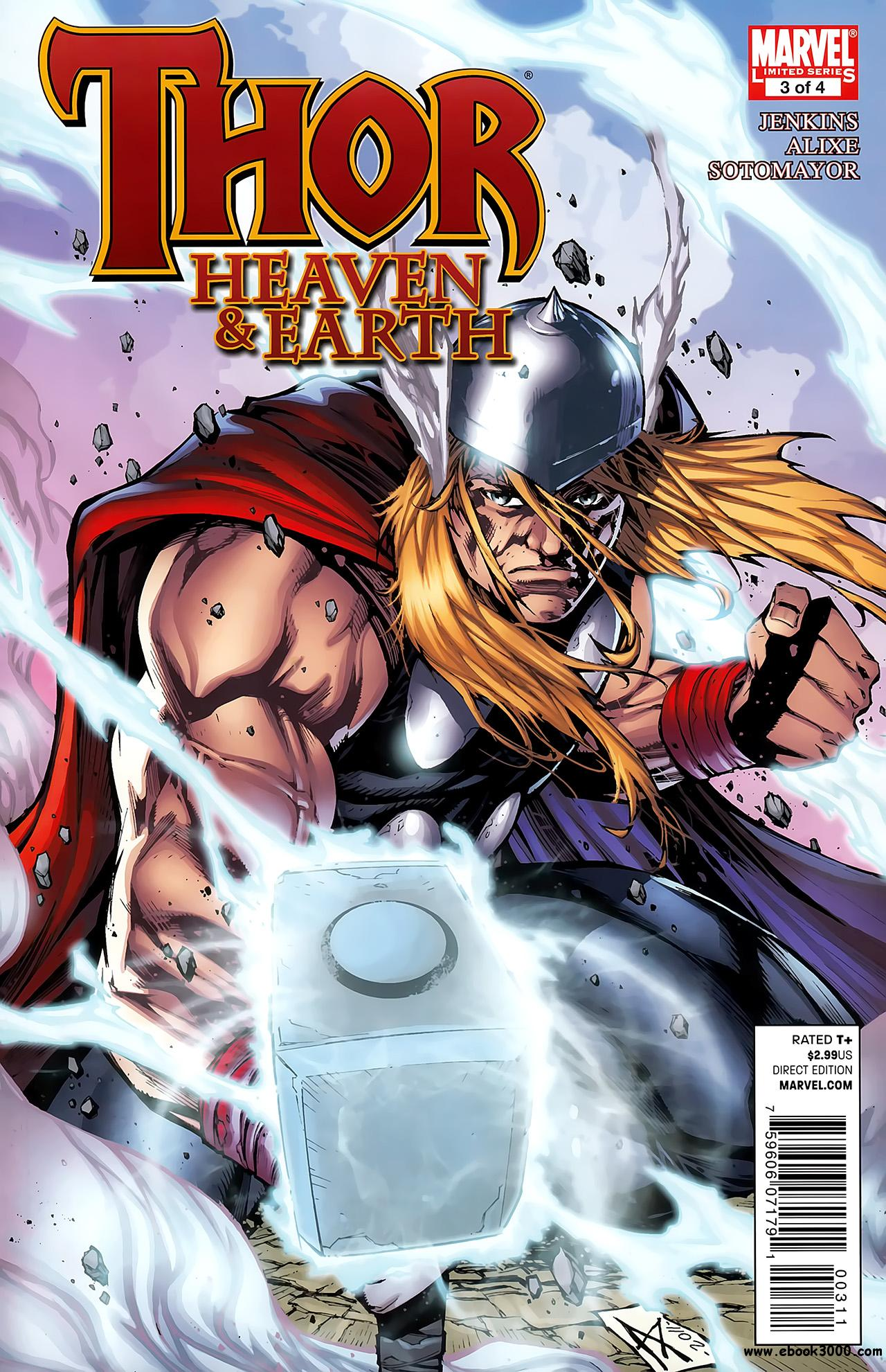 Thor - Heaven & Earth #3 (of 04) (2011) free download