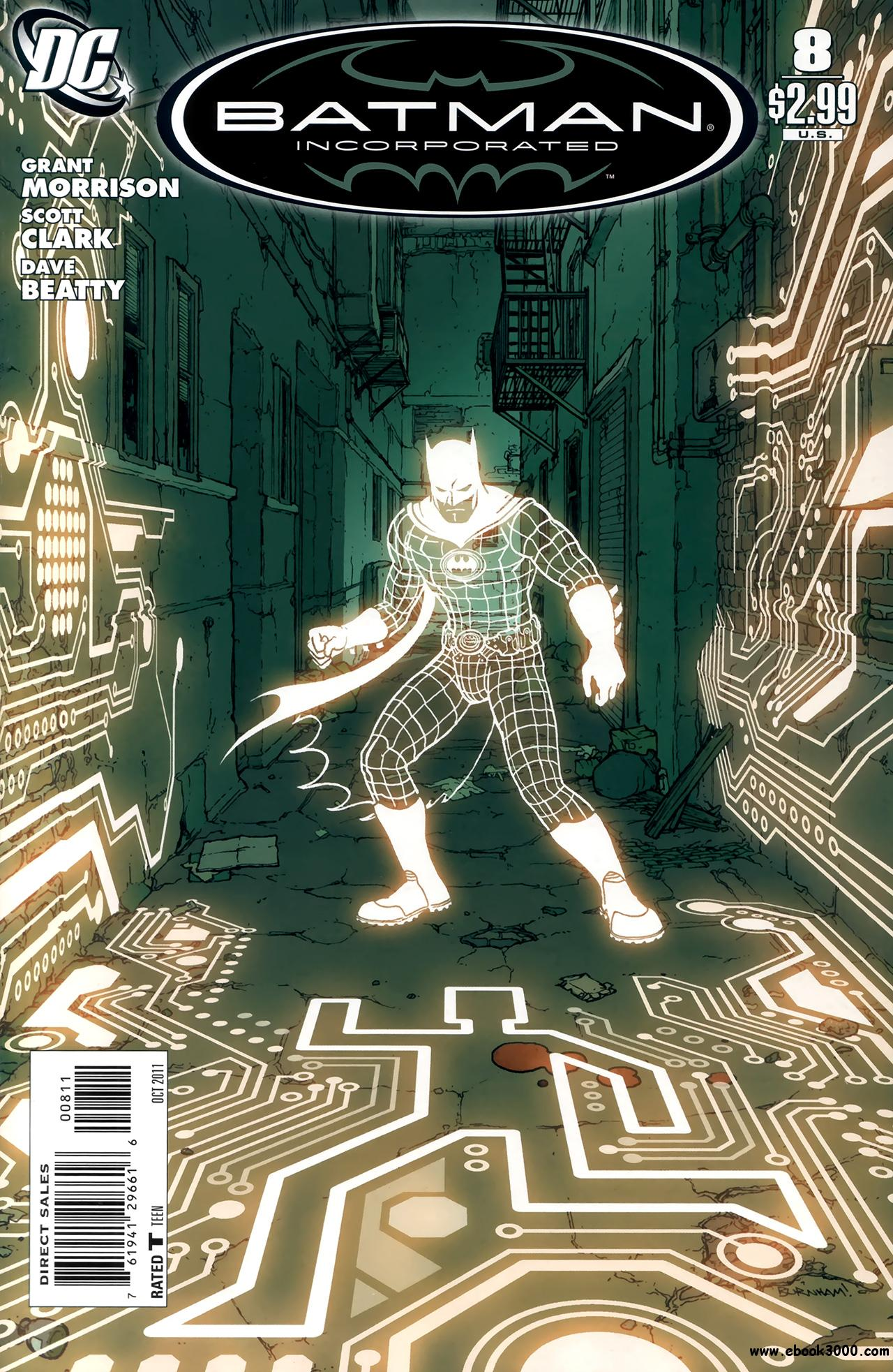 Batman, Inc. #8 (2011) free download