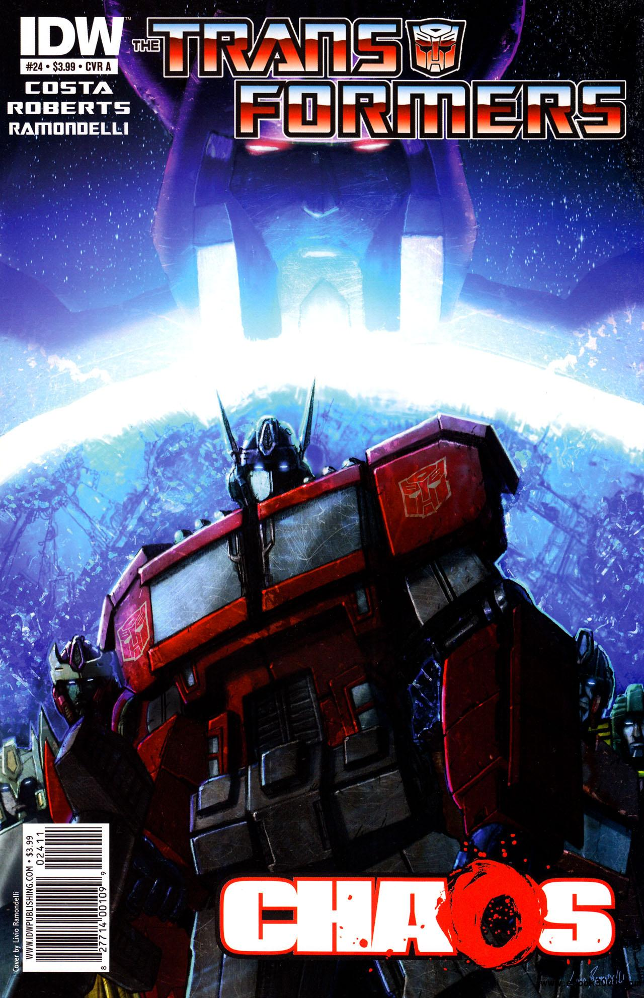 Transformers #24 (2011) free download