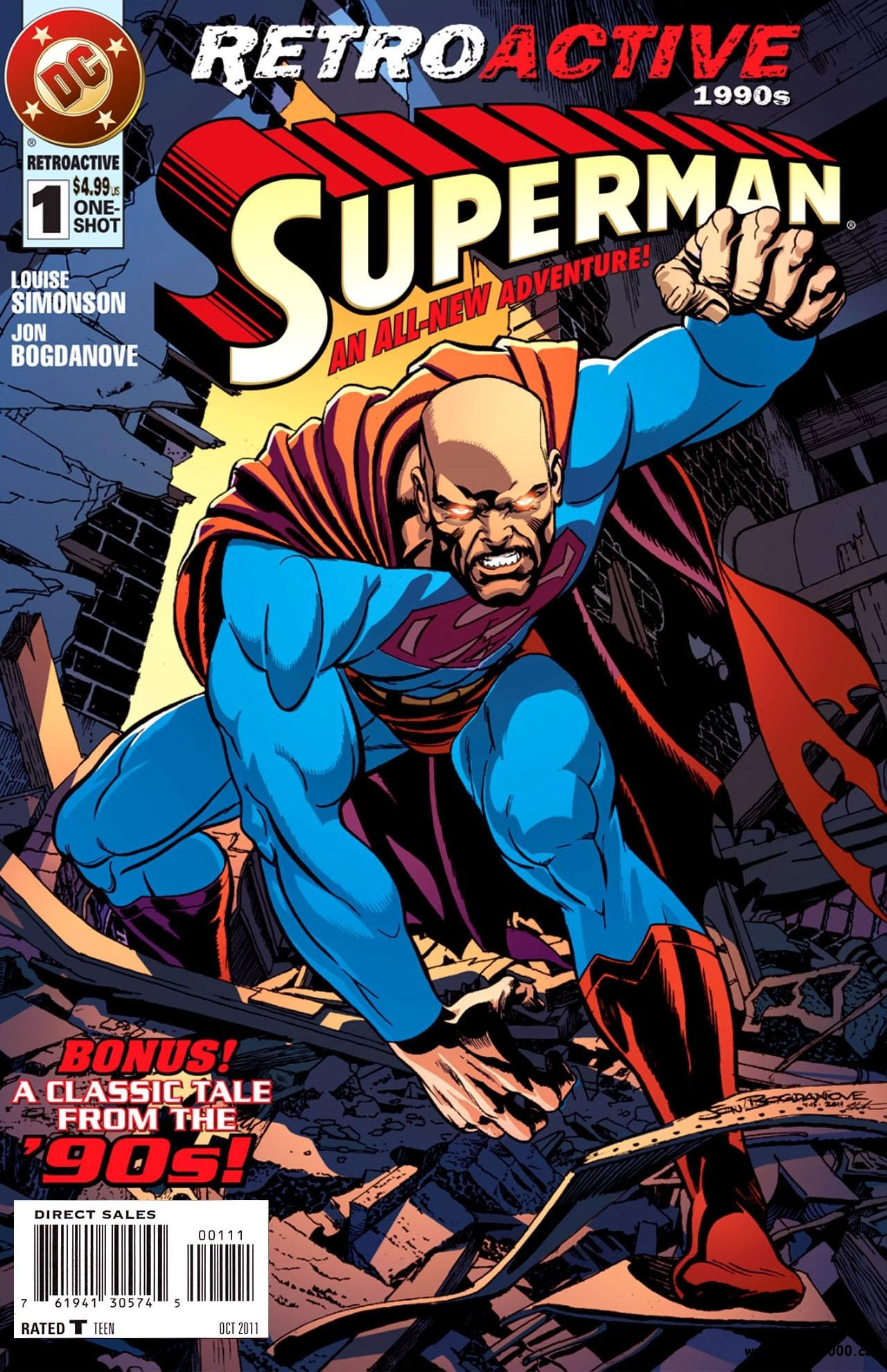 DC Retroactive: Superman - The 90s #1 (2011) free download
