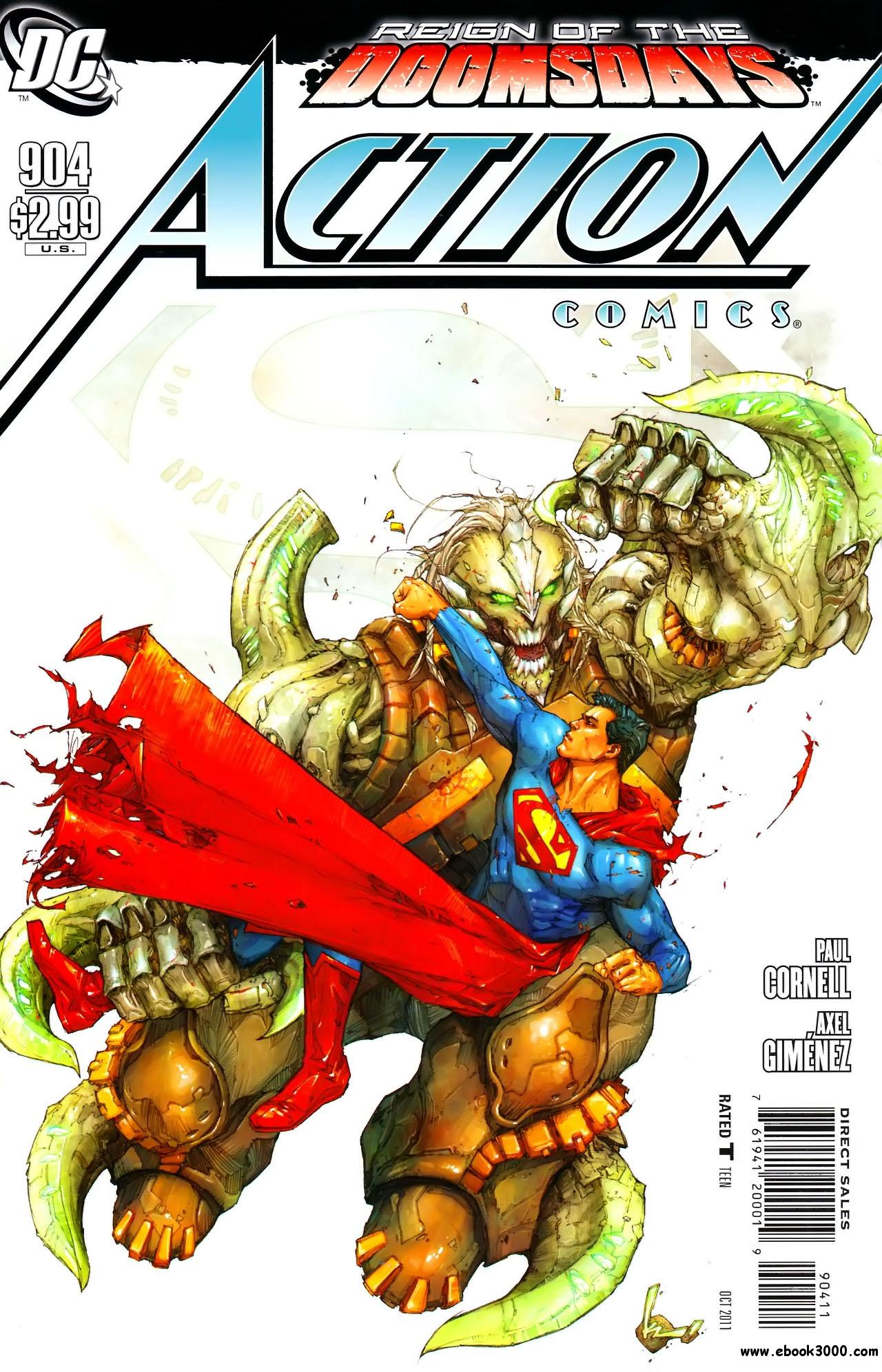 Action Comics #904 (2011) free download