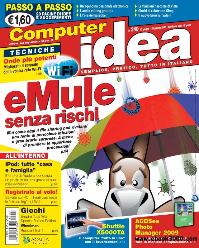 Computer Idea N 240 - 10-23 Giugno 2009 free download