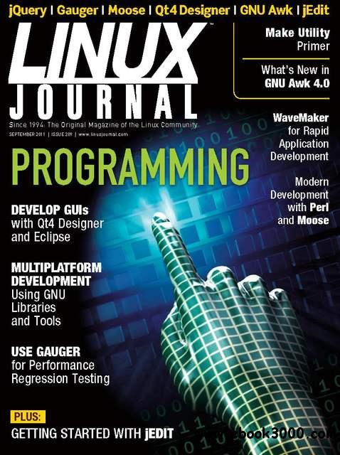 Linux Journal September 2011 download dree