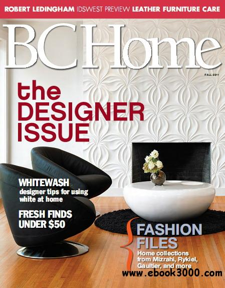 BC Home Magazine Fall 2011 free download