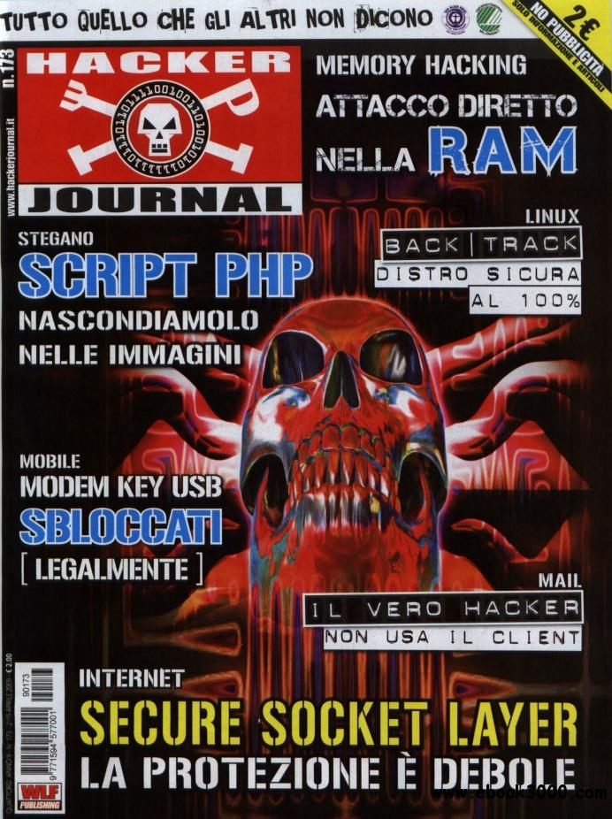 Hacker Journal N 173 - 2-15 Aprile 2009 free download