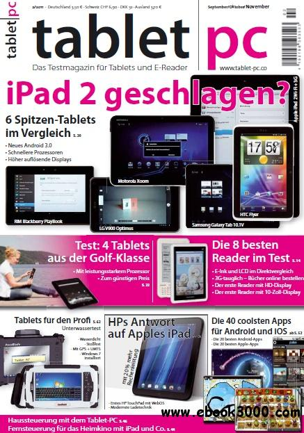 Tablet PC Test Magazin September November No 02 2011 free download