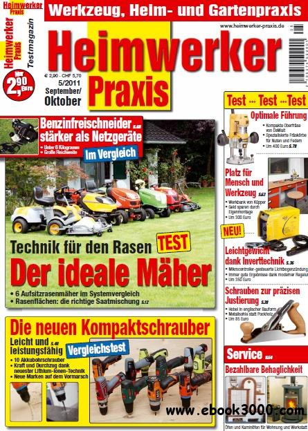 Heimwerker Praxis Magazin September Oktober No 05 2011 free download