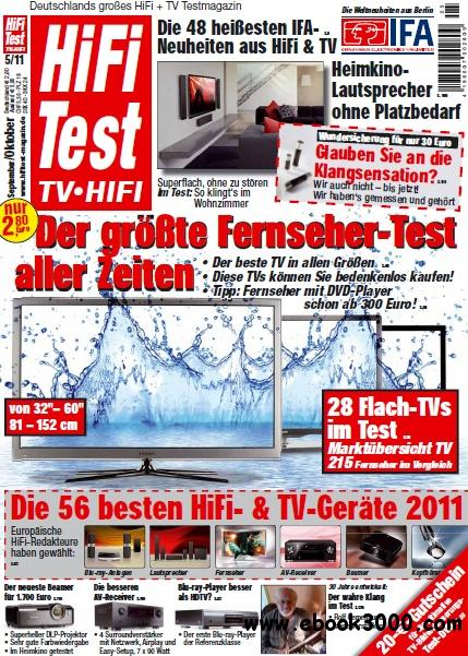 Hifi Test TV Video Magazin September Oktober No 05 2011 free download