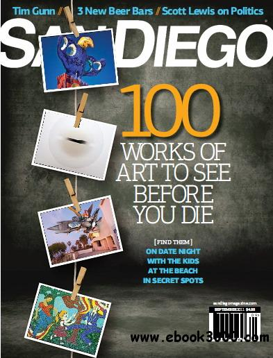 San Diego Magazine August 2011 free download