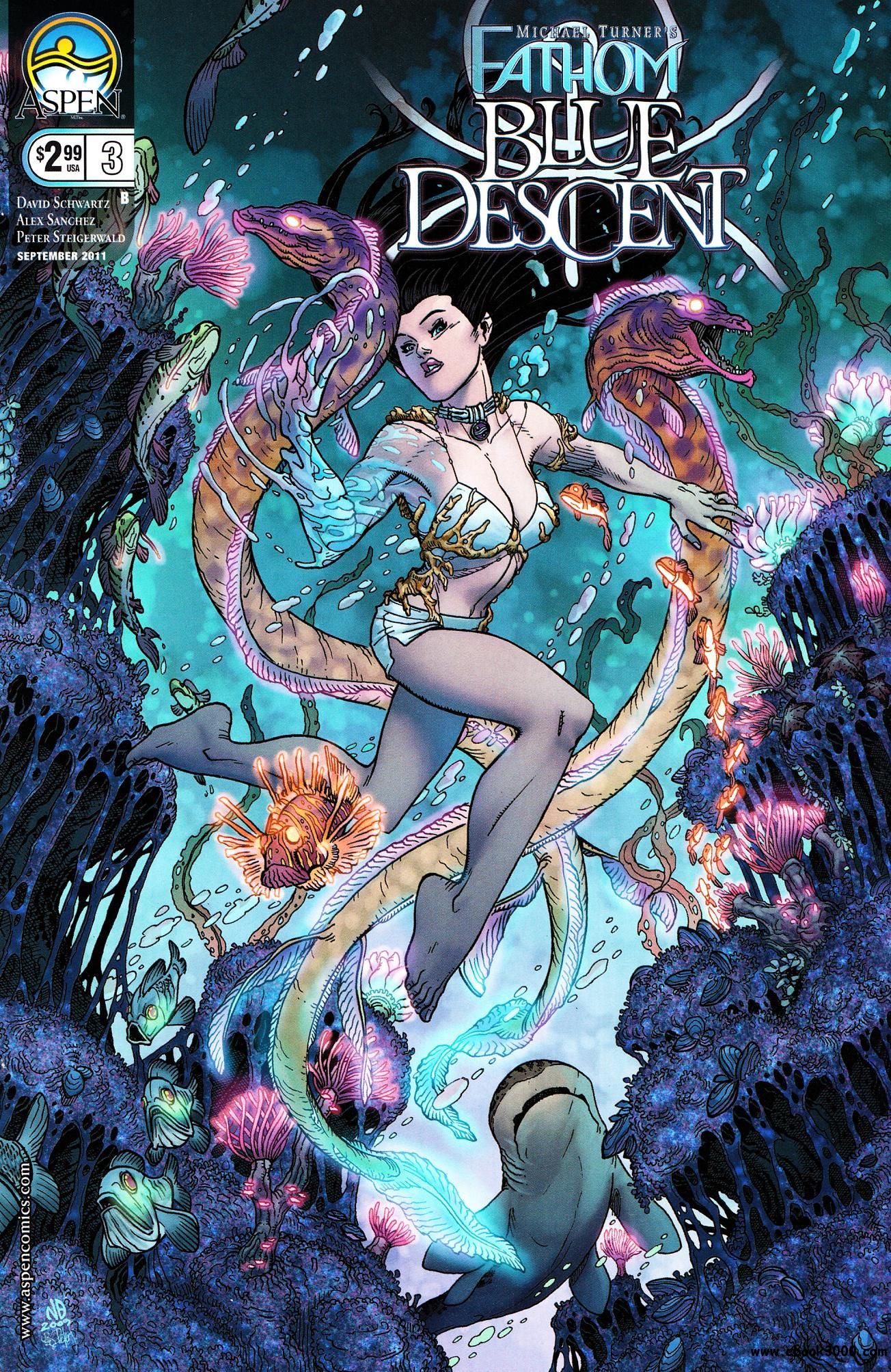 Fathom: Blue Descent #3 (2011) free download
